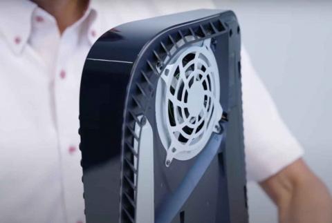 PS5 : la chauffe et le bruit dans le détail