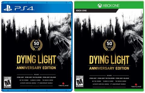 Dying Light Anniversary Edition : une version physique en approche sur PS4 et Xbox One