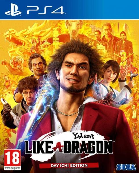 Promo Auchan : Yakuza Like a Dragon en réduction de 28%