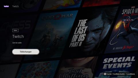 Comment utiliser l'application Twitch sur PS5 ?