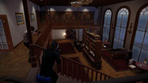 Payday 2 accueille un nouveau braquage en DLC, Buluc's Mansion