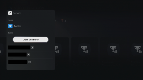 Comment utiliser sur sa PS5 la fonction Create pour faire des captures d'écran et vidéo ?