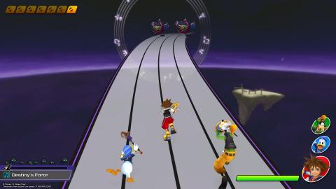 Le jeu vous permet de retrouver les musiques de la saga Kingdom Hearts.