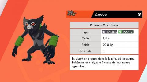 Pokémon Épée / Bouclier, Zarude : comment l'obtenir ?