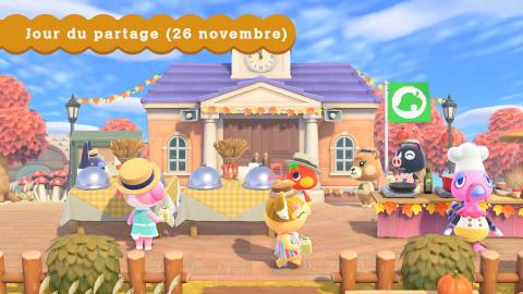 Animal Crossing New Horizons : mise à jour d'hiver et transfert de sauvegarde en approche