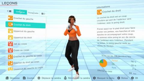 Fitness Boxing 2 : Rhythm & Exercise - une démo est disponible sur l'eShop