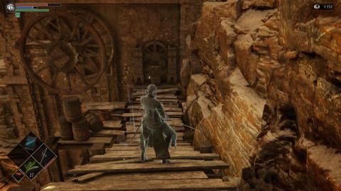Niveau 2 - 1 : Du Terrain rocailleux à La Ville-tunnel