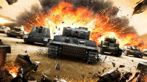 World of Tanks sur PS5