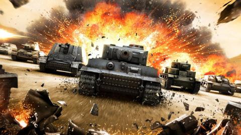 World of Tanks sur Xbox Series