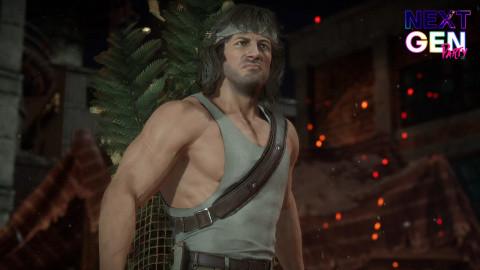 Mortal Kombat 11 : Rambo vs. RoboCop à 60fps sur PS5