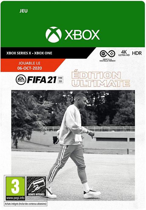 FIFA 21 Ultimate à -50% chez Amazon avant le black friday