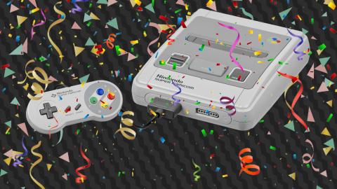 La Super Nintendo fête ses 30 ans !