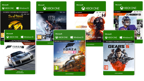Grande braderie sur les jeux Xbox One chez Amazon avant le Black Friday