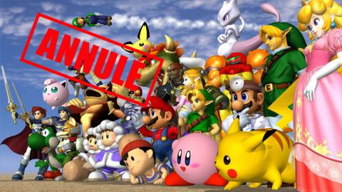 Un tournoi de Smash Bros. annulé par Nintendo, est-ce justifié ?