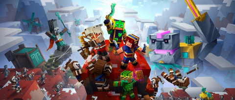 Minecraft Dungeons : Howling Peaks sur PS4