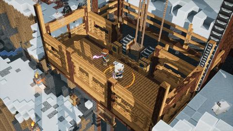 Minecraft Dungeons : le DLC Howling Peaks arrive le 9 décembre