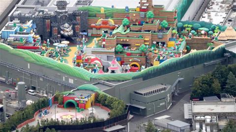 Super Nintendo World : Le parc à thème semble presque achevé