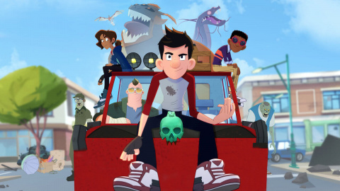 The Last Kids on Earth and the Staff of Doom sur ONE