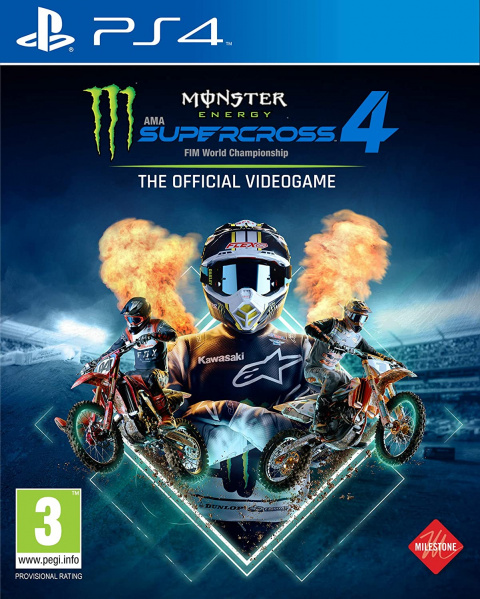 Monster Energy Supercross 4 sur PS4