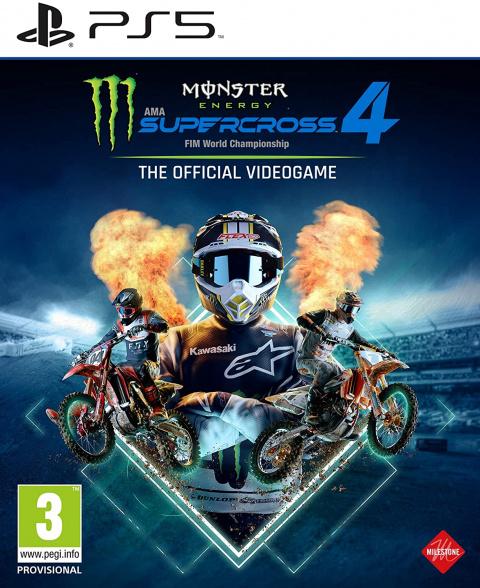 Monster Energy Supercross 4 sur PS5
