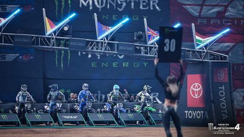 Monster Energy Supercross 4 annoncé sur PC, PS4, PS5, Xbox One et Xbox Series
