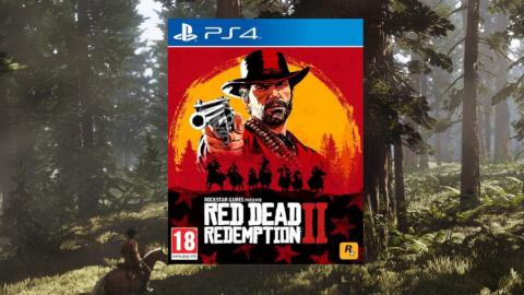 Red Dead Redemption 2 sur PS4 à 24,13€ sur Cdiscount