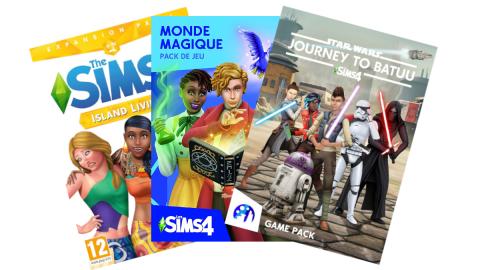 Jusqu'à moins 50% sur les extensions des Sims 4 sur Amazon avant le Black Friday
