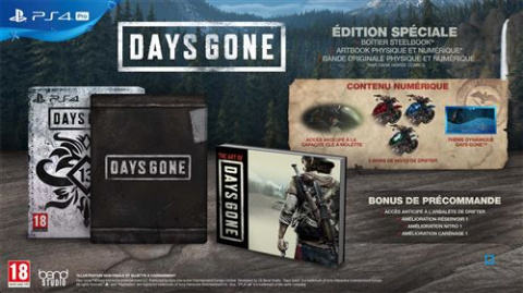 Days Gone Edition Spéciale à -63% chez la fnac avant le Black Friday