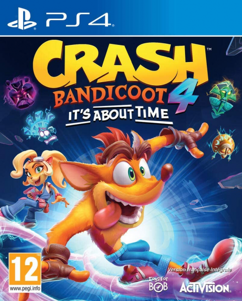 Black Friday : Crash Bandicoot 4 : It's About Time à moins de 40€ sur Amazon