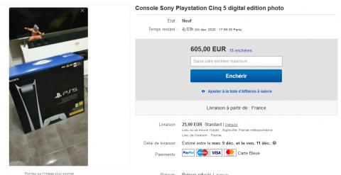 PS5 : eBay alerte les acheteurs face aux annonces trompeuses