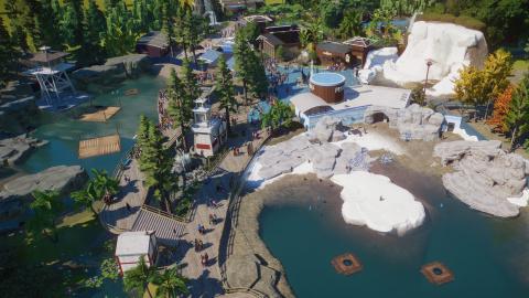 Planet Zoo : Frontier dévoile et date le Pack Aquatique