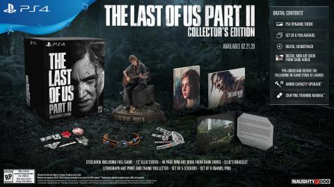 Black Friday : The Last of Us Part II : Collector Edition comprenant la figurine Ellie à -25% chez Fnac