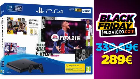 Black Friday : Le pack PS4 + FIFA 21 à 289 € chez Amazon