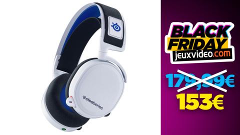 Black Friday : le casque PS5 Steelseries Gaming Artics 7 en réduction chez Boulanger