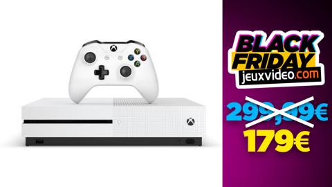 Black Friday : La Xbox One S 1 T0 blanche à moins de 180 € chez la Fnac