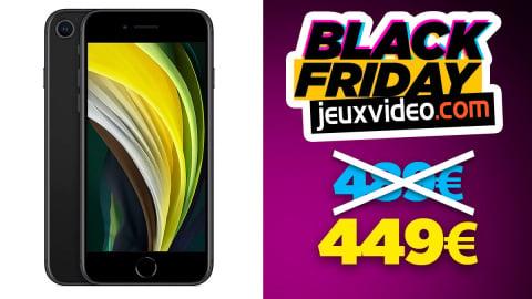 Black Friday : L'Apple iPhone SE à 449 € sur Amazon