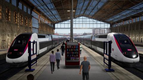 Train Sim World 2 : La ligne Marseille - Avignon se dévoile en images