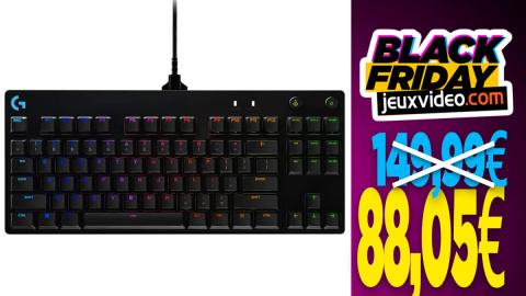 Le clavier Logitech G Pro à 88,05 € au lieu de 149,99€