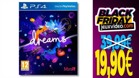 Le jeu Dreams sur PS4 et PS5 à - 50%