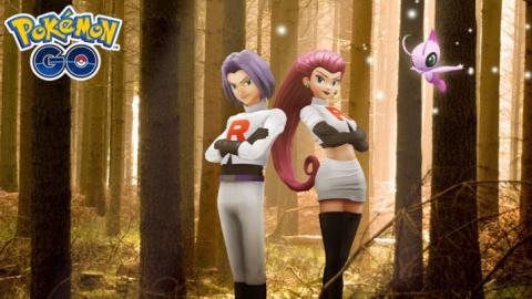 Pokémon GO : Jessie et James de retour en compagnie de Celebi