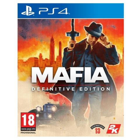 Black Friday : Mafia : Definitive Edition à moitié prix chez Auchan