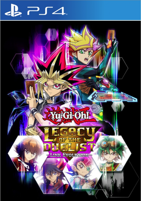 Yu-Gi-Oh! Legacy of the Duelist : Link Evolution sur PS4