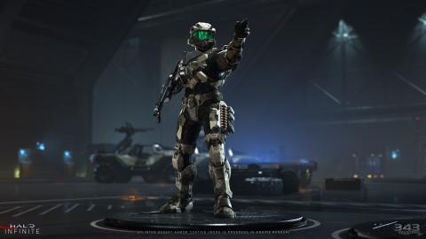 Halo Infinite : sortie prévue à l'automne 2021, une première carte multijoueur présentée en images
