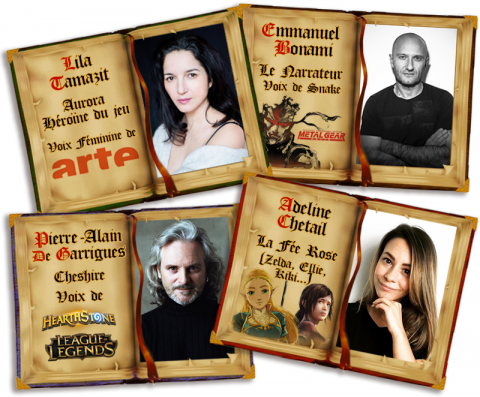 Fairymm, projet de jeu d'horreur sur les contes de fées avec un casting notable