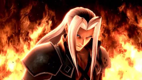 Super Smash Bros. Ultimate : Sephiroth (Final Fantasy 7) annoncé