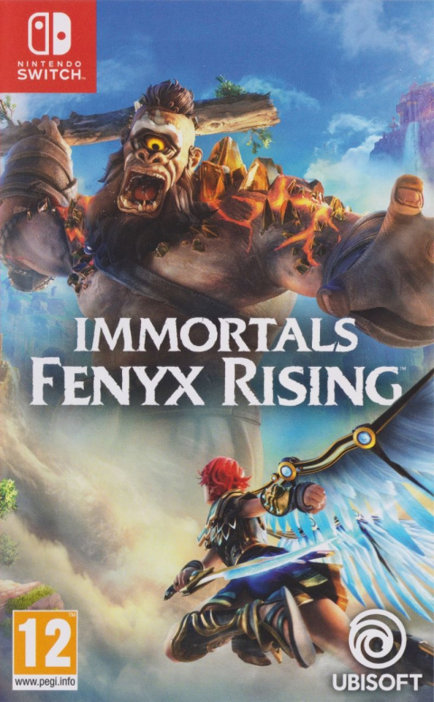Immortals Fenyx Rising sur Switch