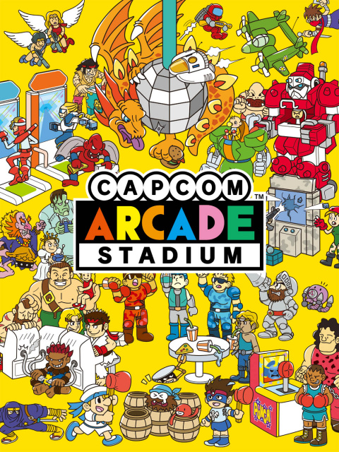 Capcom Arcade Stadium sur Switch