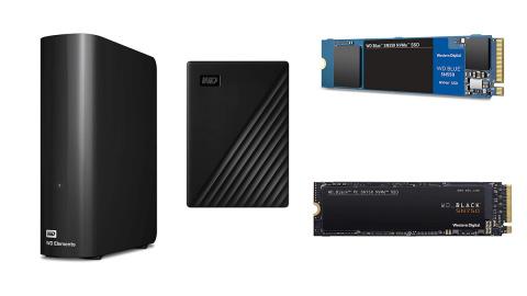 Jusqu'à -38% sur une sélection de SSD et HDD Western Digital avant Noël