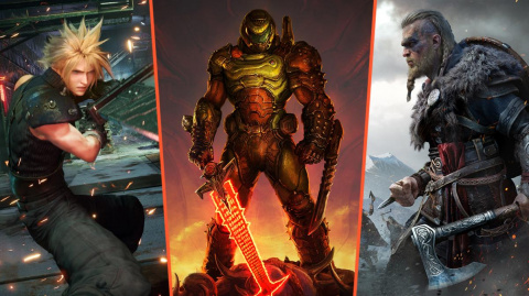 Les jeux les mieux notés de 2020 sur jeuxvideo.com en vidéo