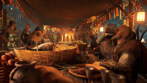 Assassin's Creed Valhalla propose du contenu gratuit avec le Festival de Yule